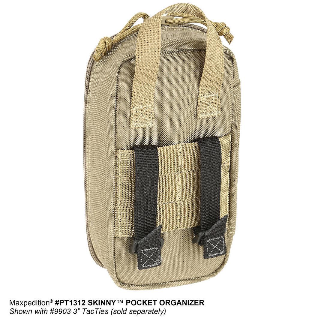 Maxpedition Skinny Pocket Organizer ~ black image 4