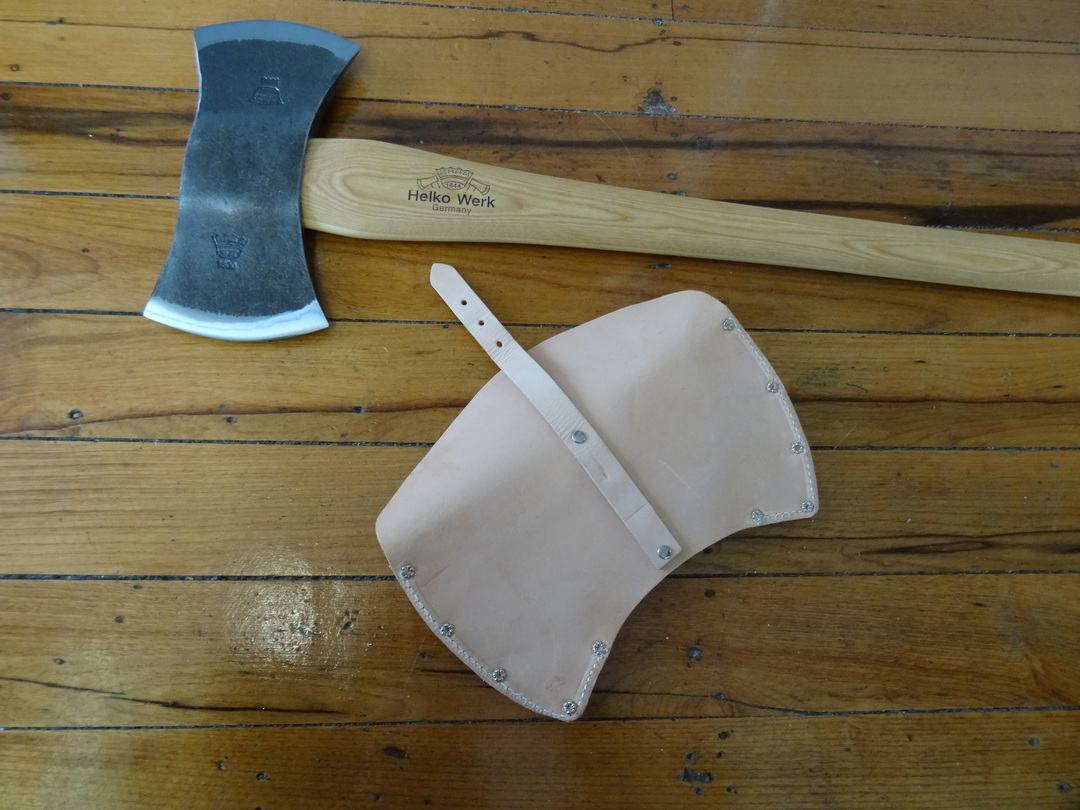 HELKO Traditional Line American Double Bit Felling axe With Sheath 13575 image 4