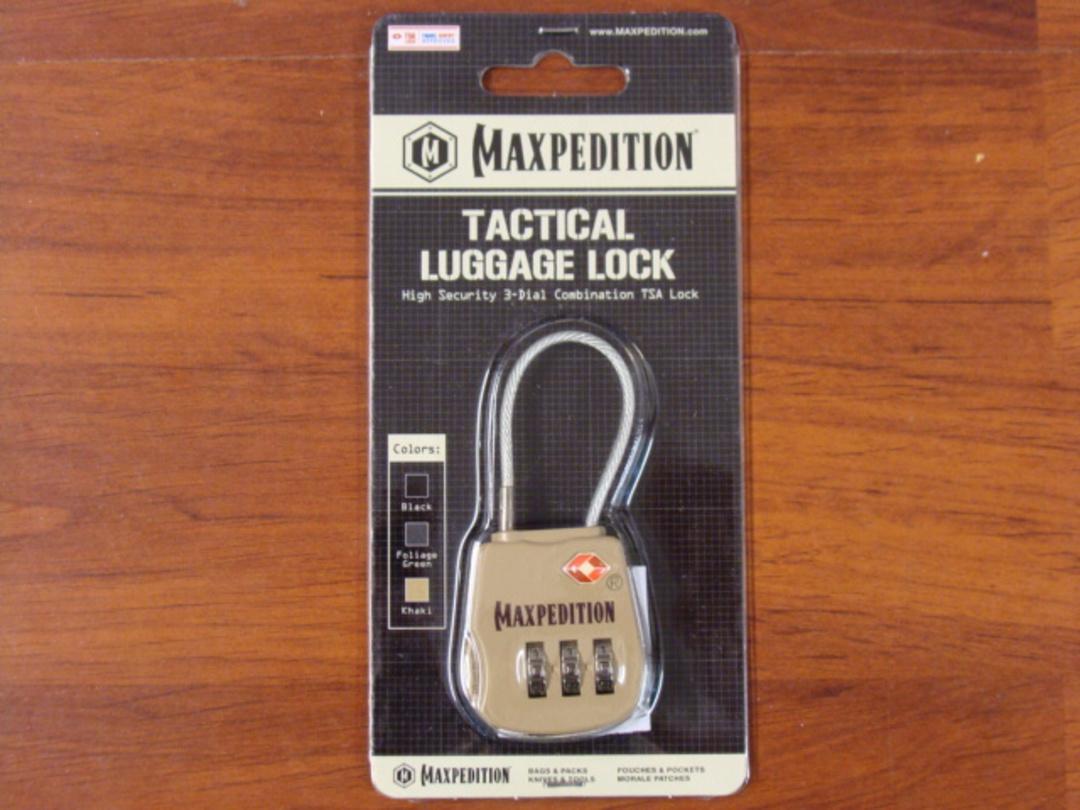Maxpedition Tactical Luggage Lock - Khaki image 1