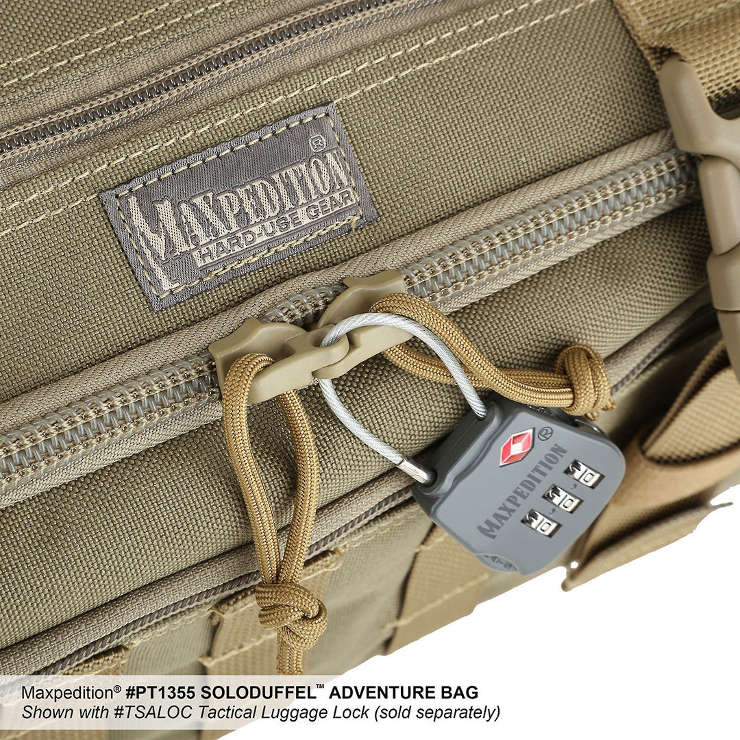 Maxpedition Soloduffe™ Adventure Bag - Khaki PT1355K image 9