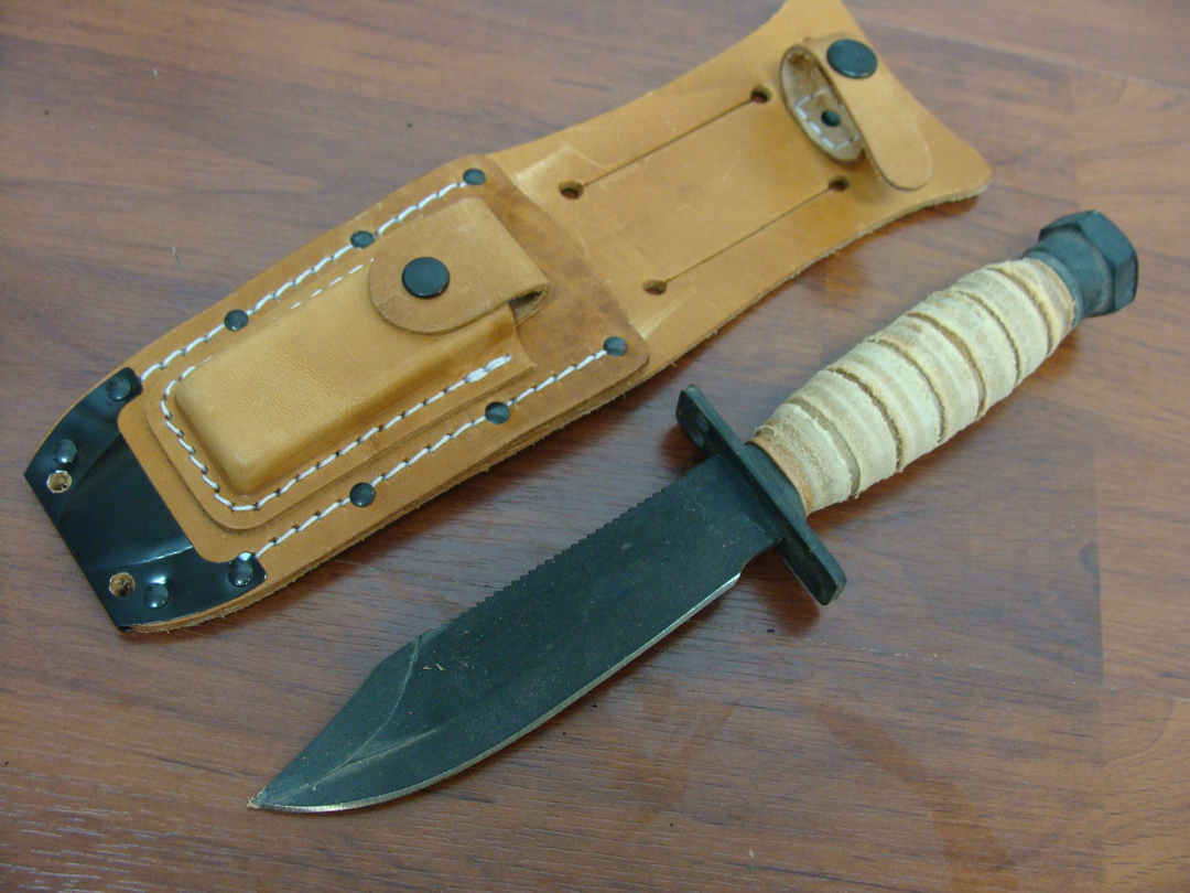 Ontario 499 Force Survival Knife w/Sheath image 0