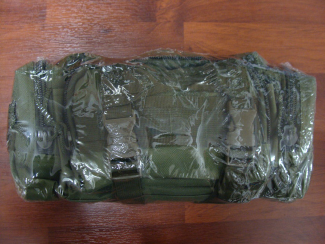 Elite 1st Aid First Aid Rapid Response Trauma Bag #1 - OD GREEN image 1