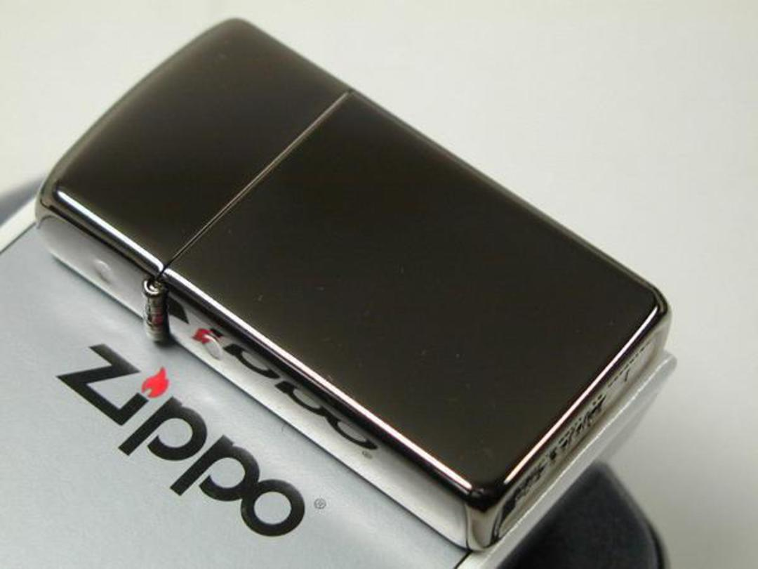 Zippo Slim Black Ice Lighter - 20492 image 0