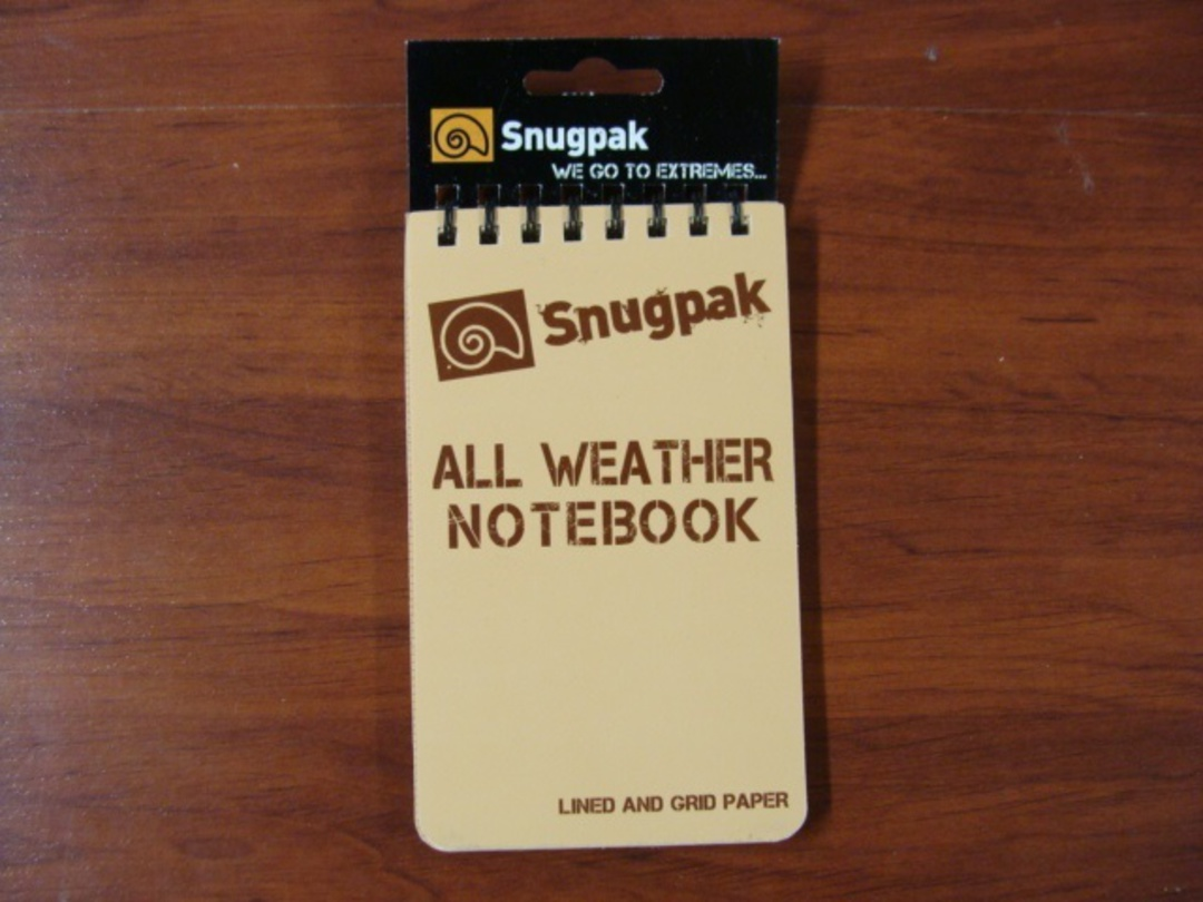 "All Weather Notebook Notebook 3"" x 5"" Tan image 0"
