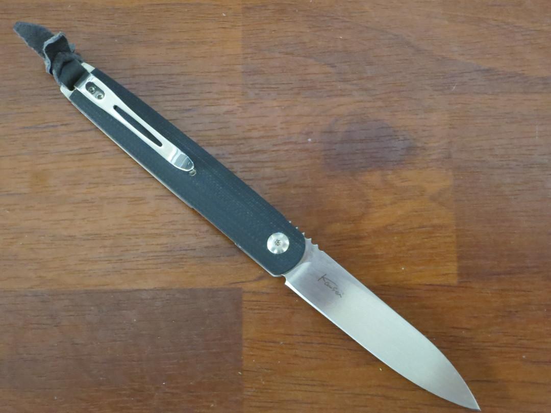Boker Plus Kansei Matsuno LRF Front Flipper Knife, G10 Handles - 01BO078 image 1