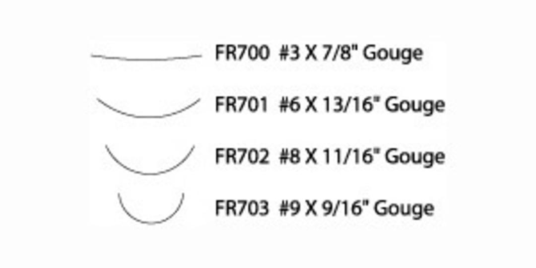 Flexcut FR704 Super Wide Format Palm Set image 1