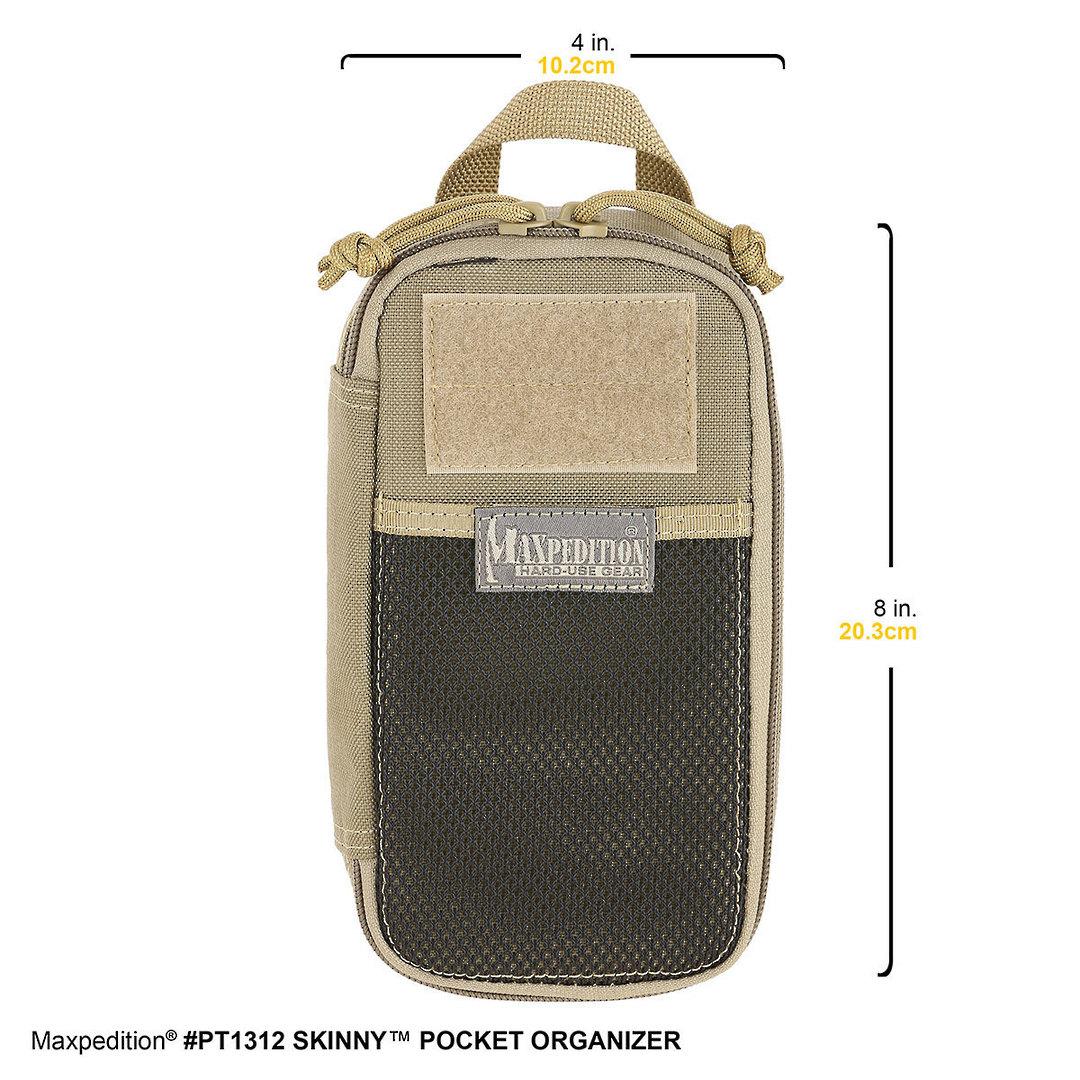 Maxpedition Skinny Pocket Organizer ~ black image 1