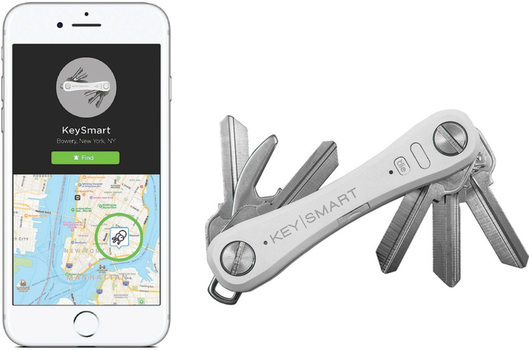 KeySmart Pro With Tile Smart Location White image 0
