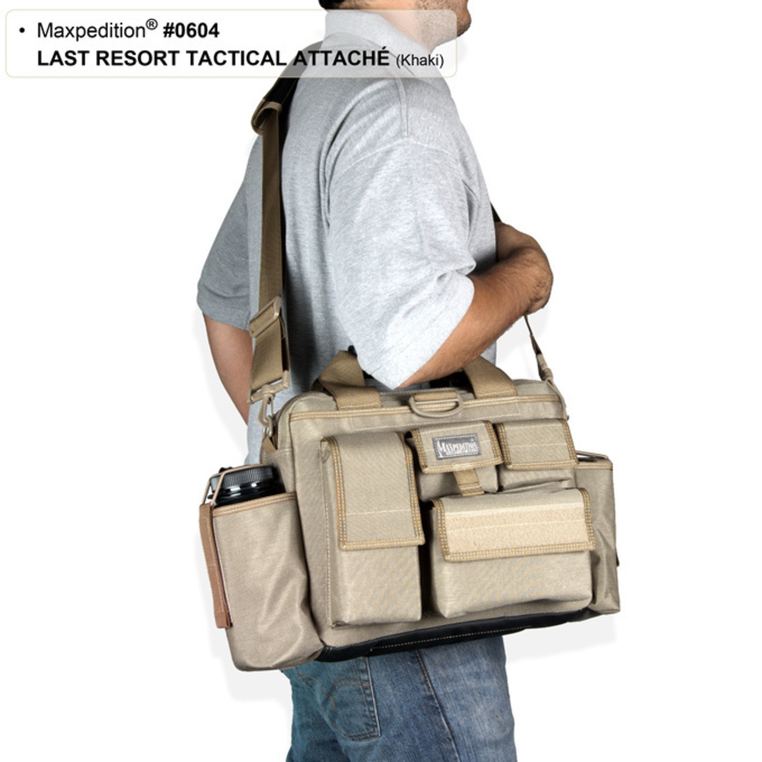Maxpedition Last Resort Tactical Attache (Small) - Green image 9
