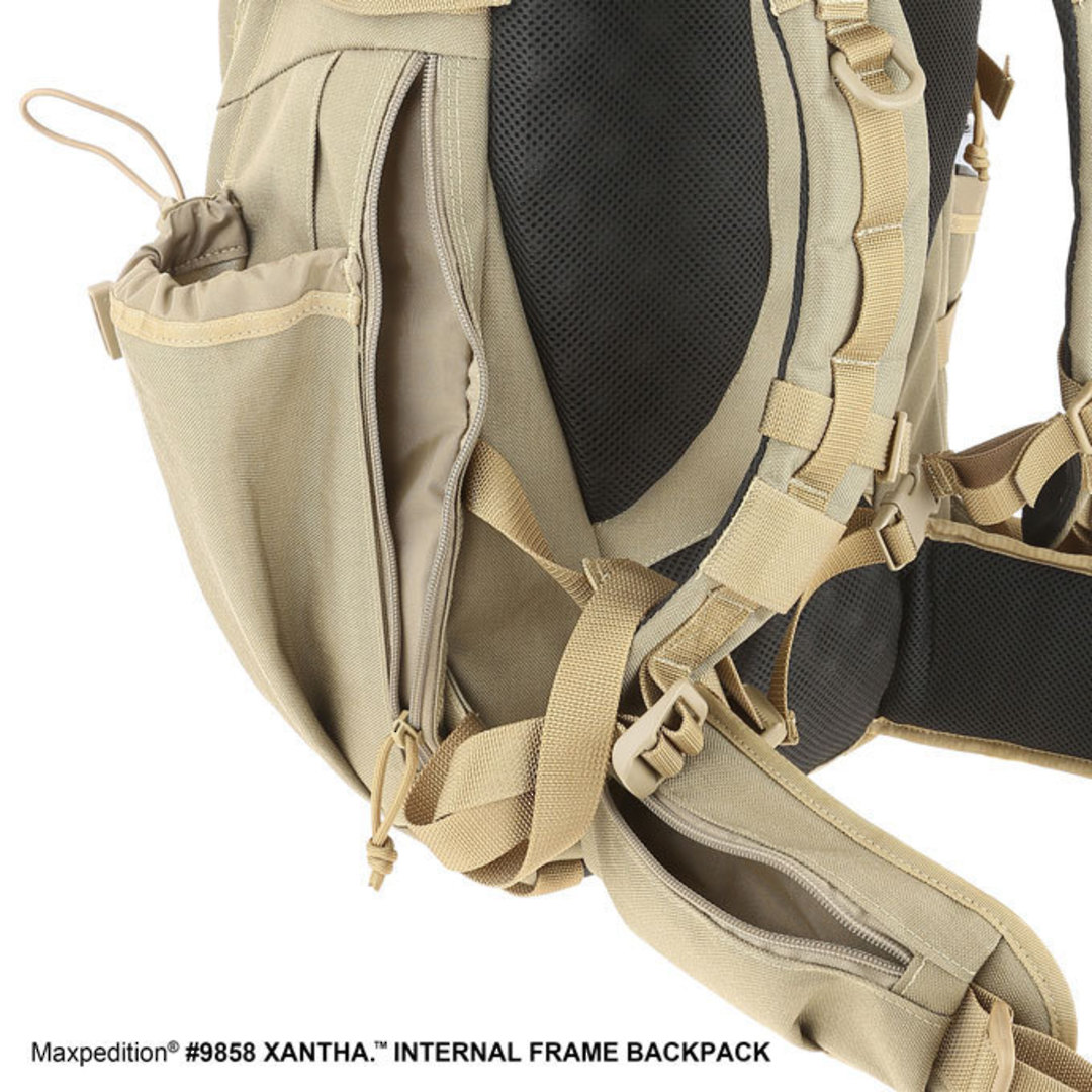 Maxpedition XANTHA INTERNAL FRAME BACKPACK (Large) - Khaki image 4