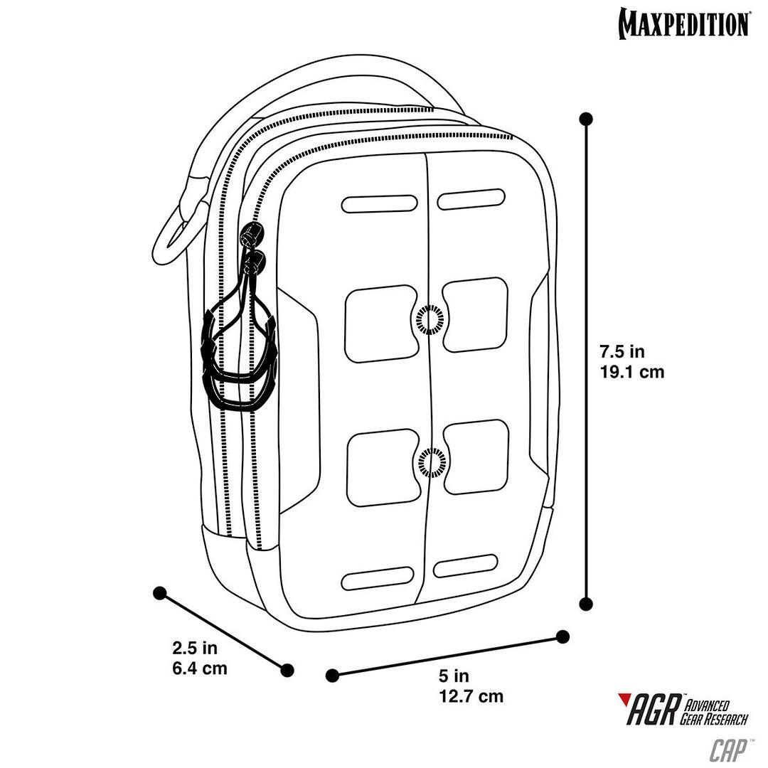 Maxpedition CAP™ Compact Admin Pouch~ Khaki image 1