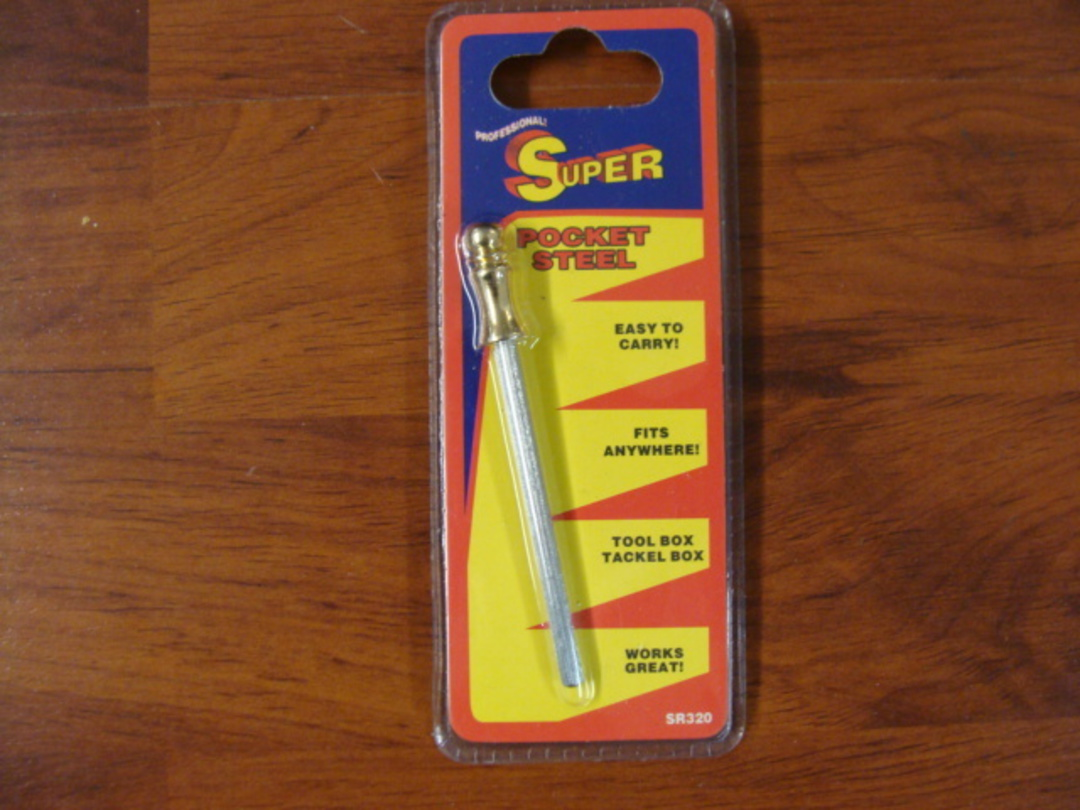 Super Mini Pocket Sharpening Steel image 0