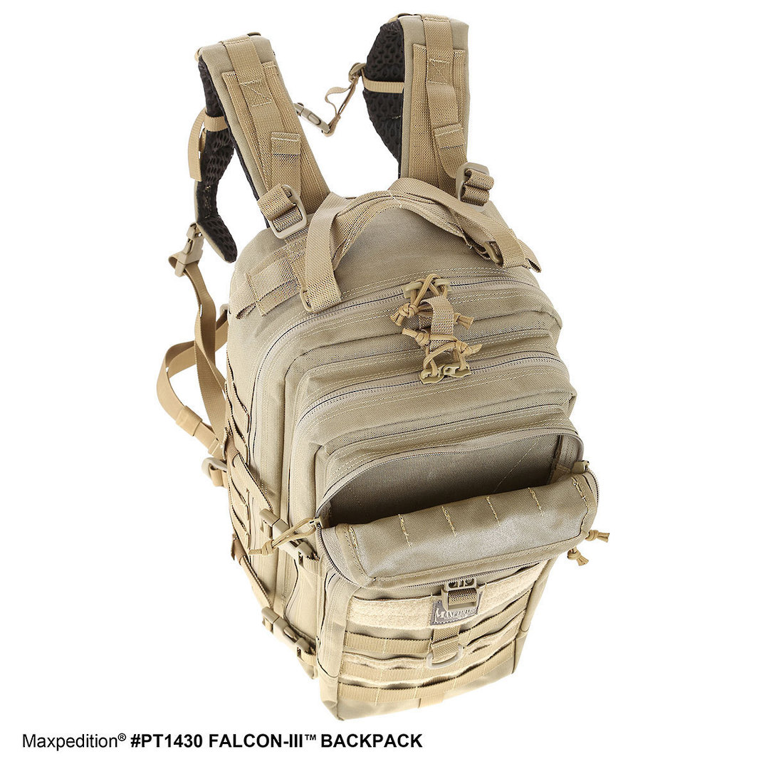 Maxpedition Falcon III Backpack - Black image 4