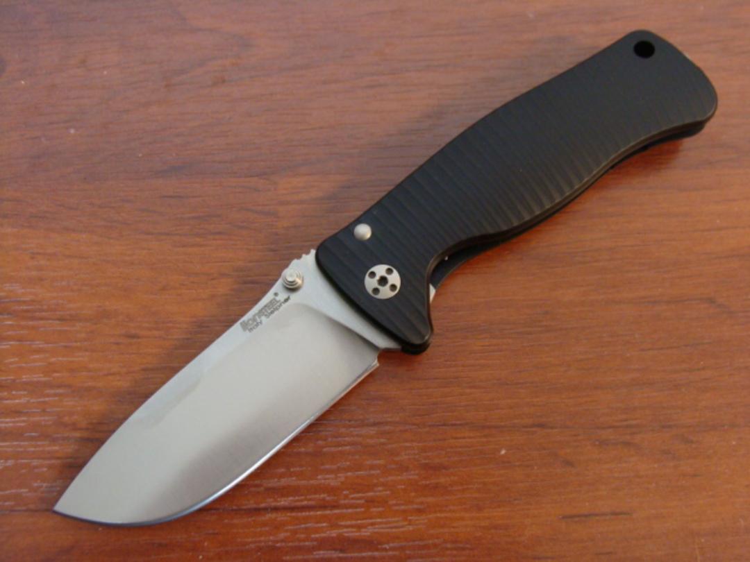 LionSteel SR-2 Mini Molleta Folding Knife image 0
