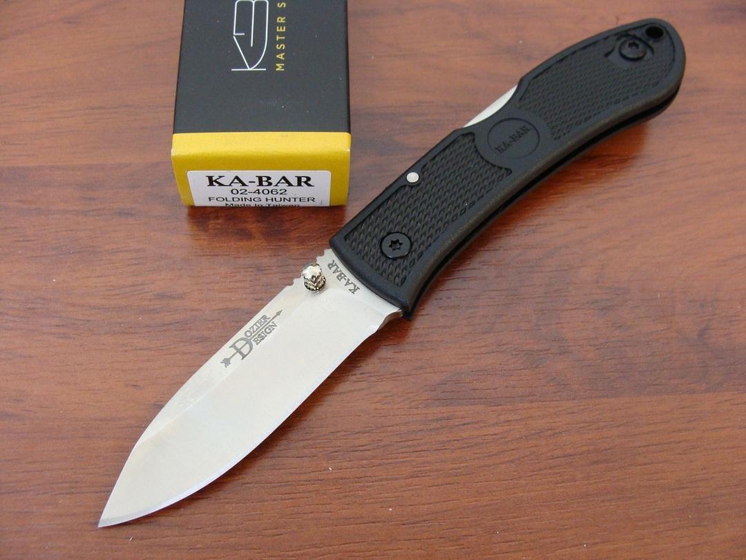 Ka-Bar Dozier Folding Hunter Knife image 0