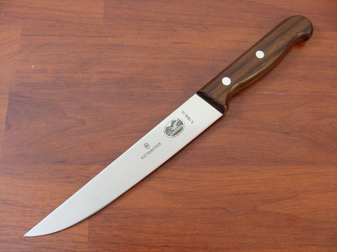 Victorinox Carving Knife 18cm Rosewood Narrow edge image 0