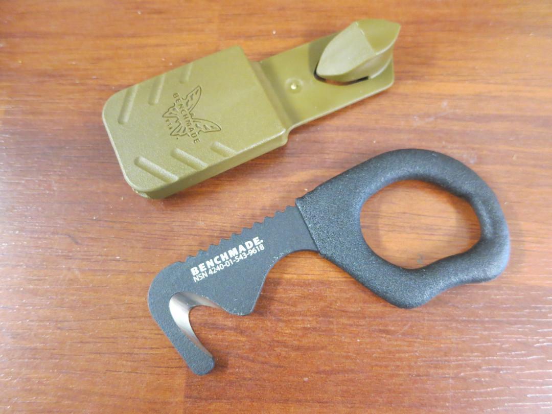 Benchmade 7BLKW Strap Cutter- BM618 image 0