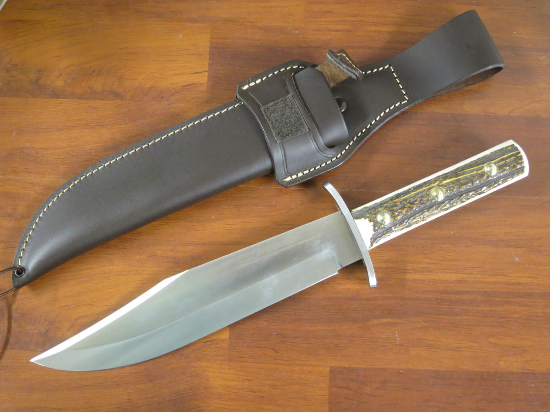 Linder Full Tang Bowie Knife 177425 image 0