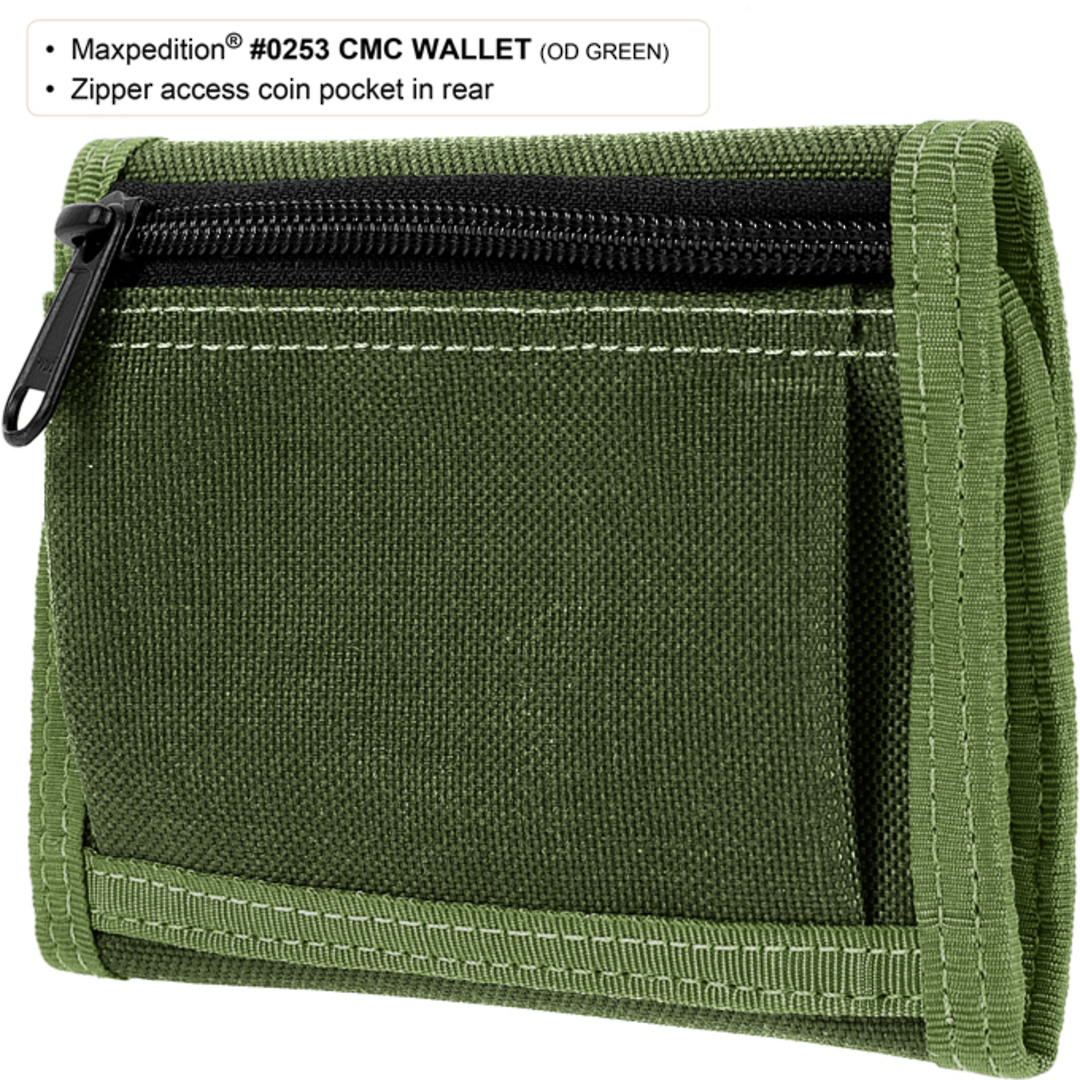 Maxpedition CMC Wallet - Khaki image 1