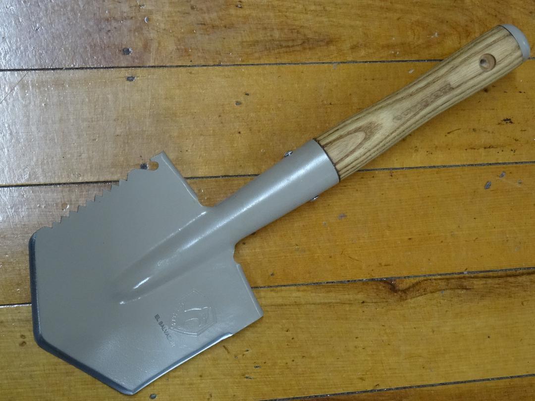 Condor Tool & Knife Camping Shovel, Canvas Sheath image 0