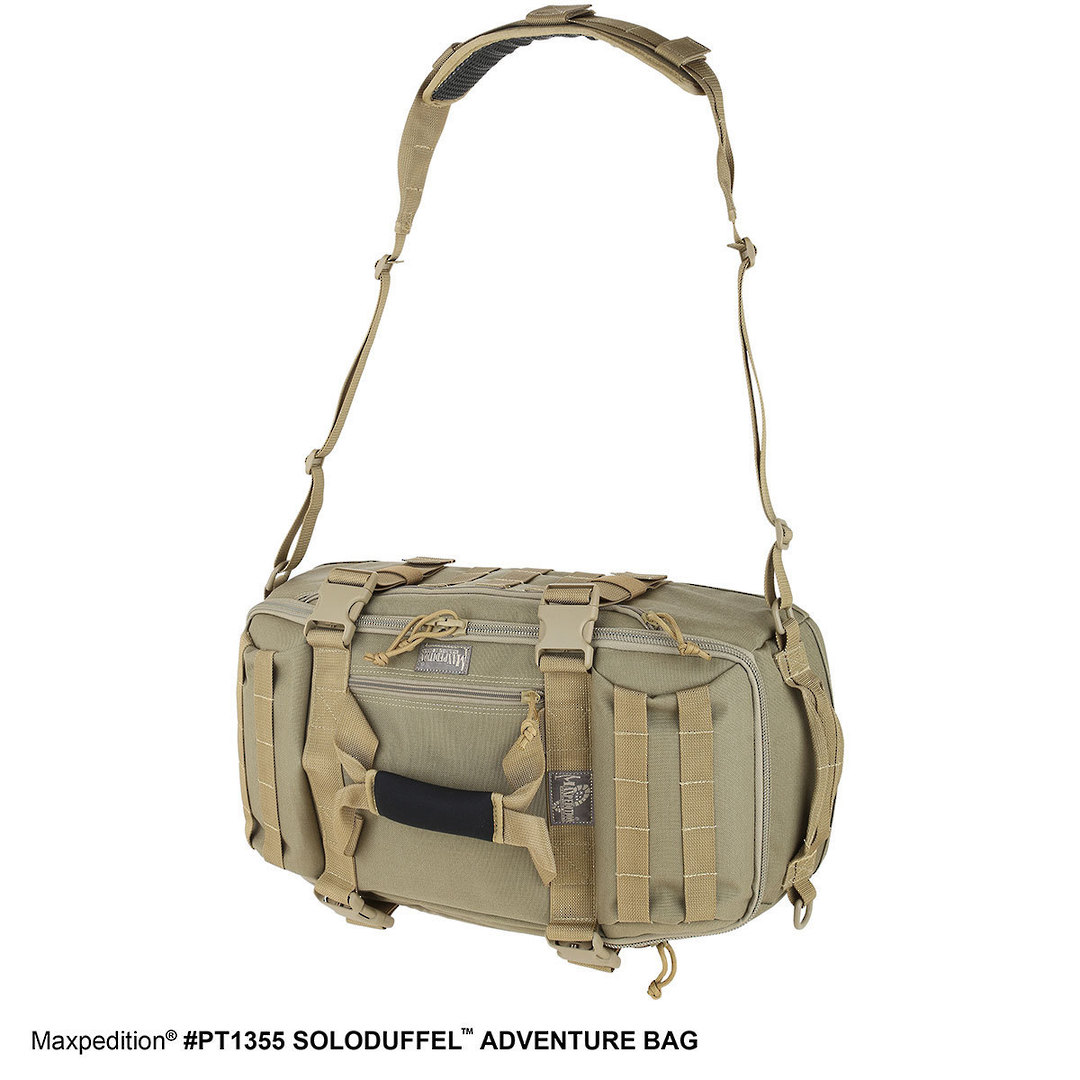 Maxpedition Soloduffe™ Adventure Bag - Khaki PT1355K image 8