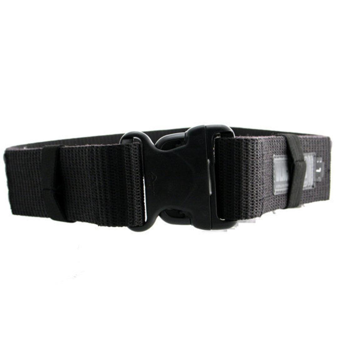 BlackHawk Enhanced Military Web Belt, Black, Large, Up to 43 inch image 0