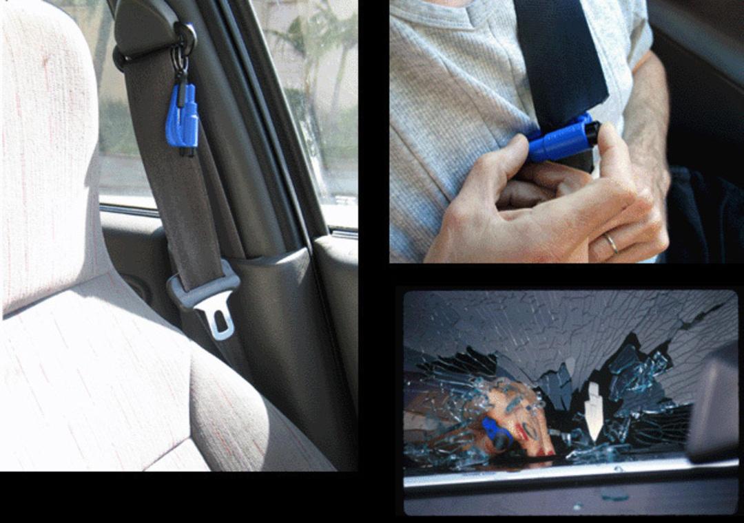 ResQMe Keychain Rescue Emergency Tool-  Black image 2
