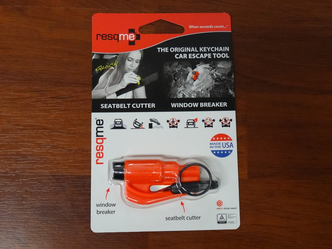 ResQMe Keychain Rescue Emergency Tool-  Orange image 0