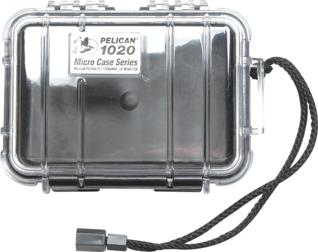 Pelican 1020 Micro Case - Clear image 0