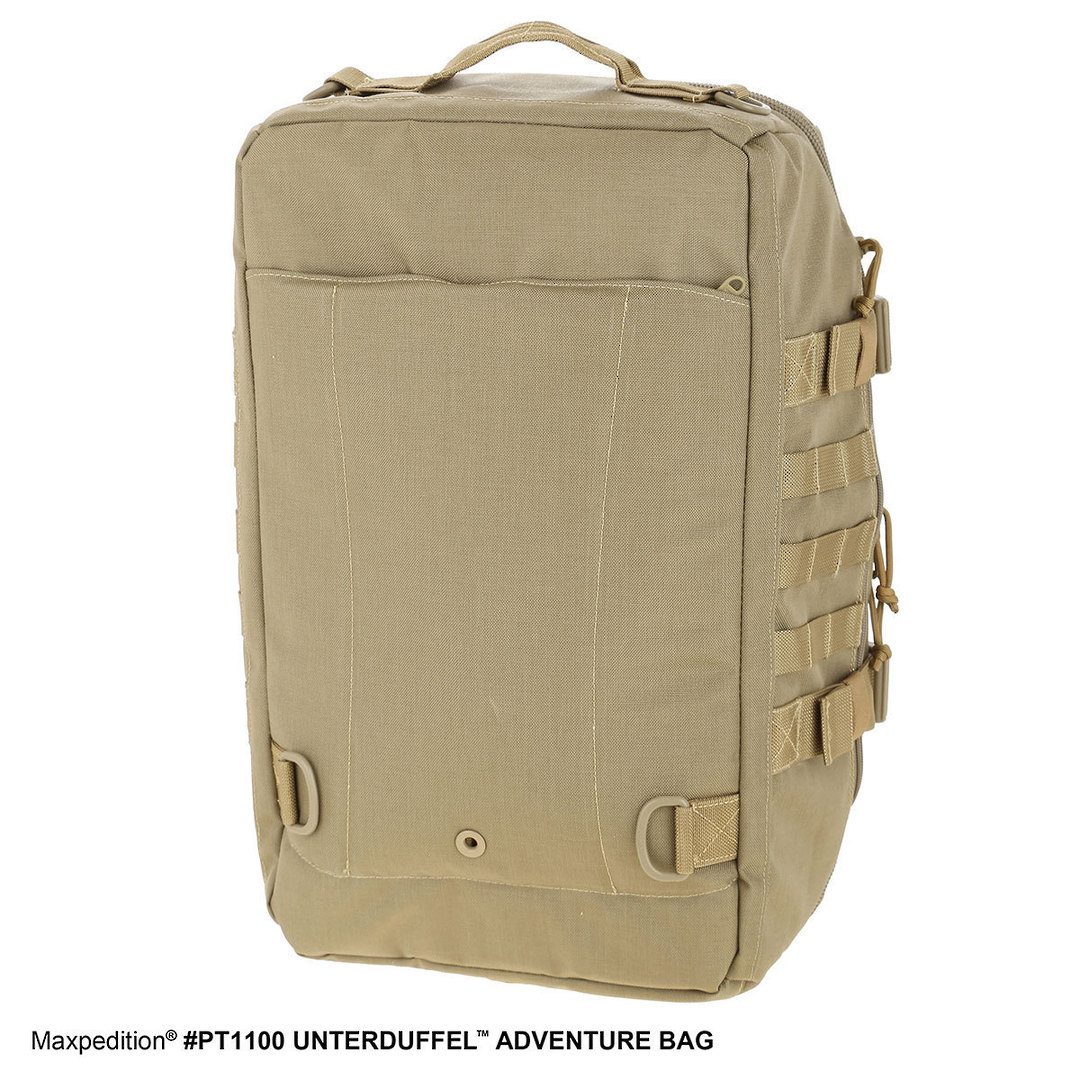 Maxpedition Unterduffel Adventure Bag - Khaki image 3