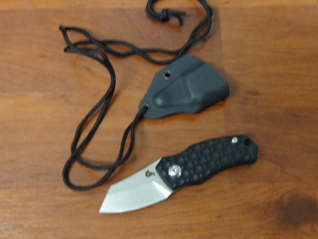 Fox Knives Black Fox SKÅL DESIGN BY DENIS SIMONUTTI BF732 image 0