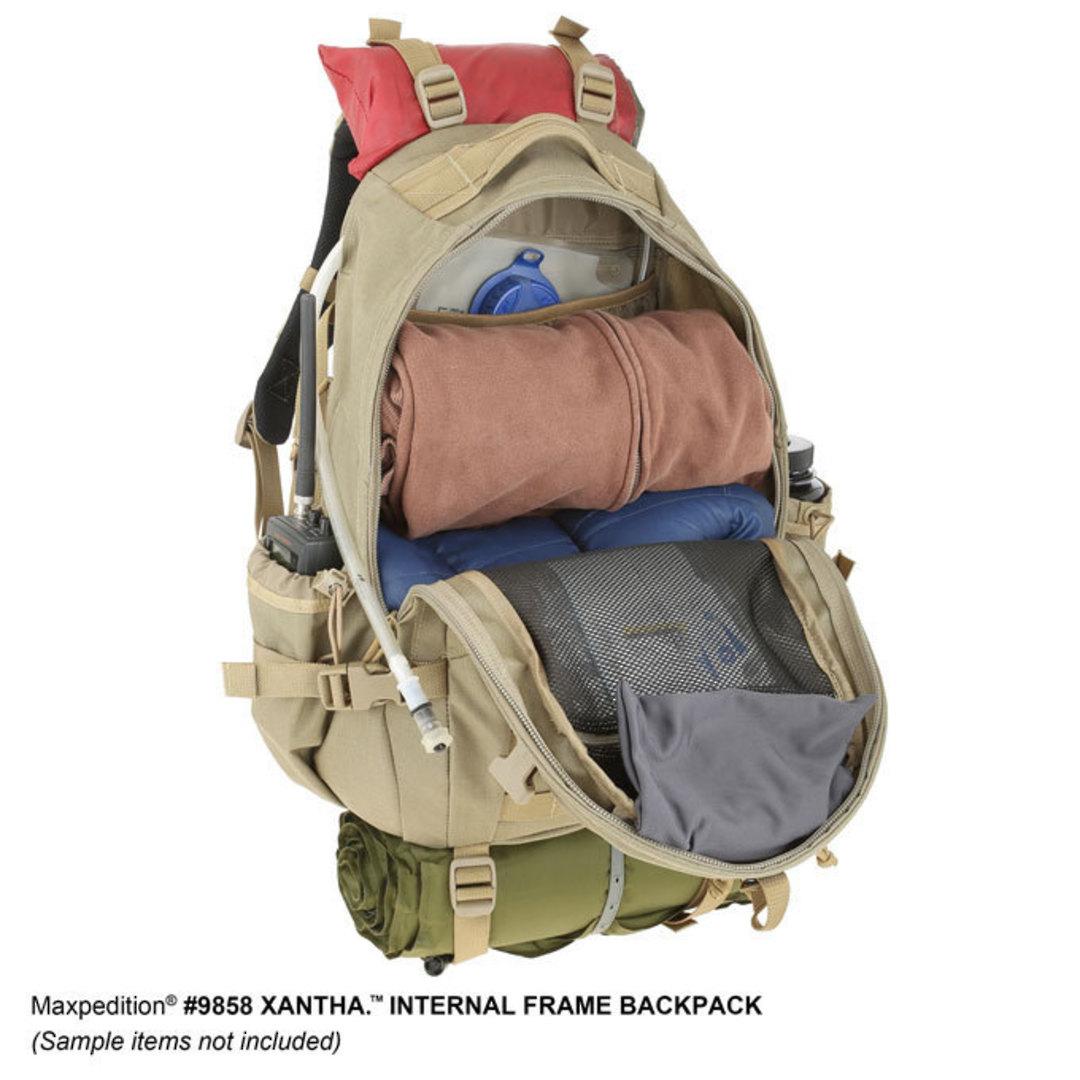 Maxpedition XANTHA INTERNAL FRAME BACKPACK (Large) - Khaki image 13