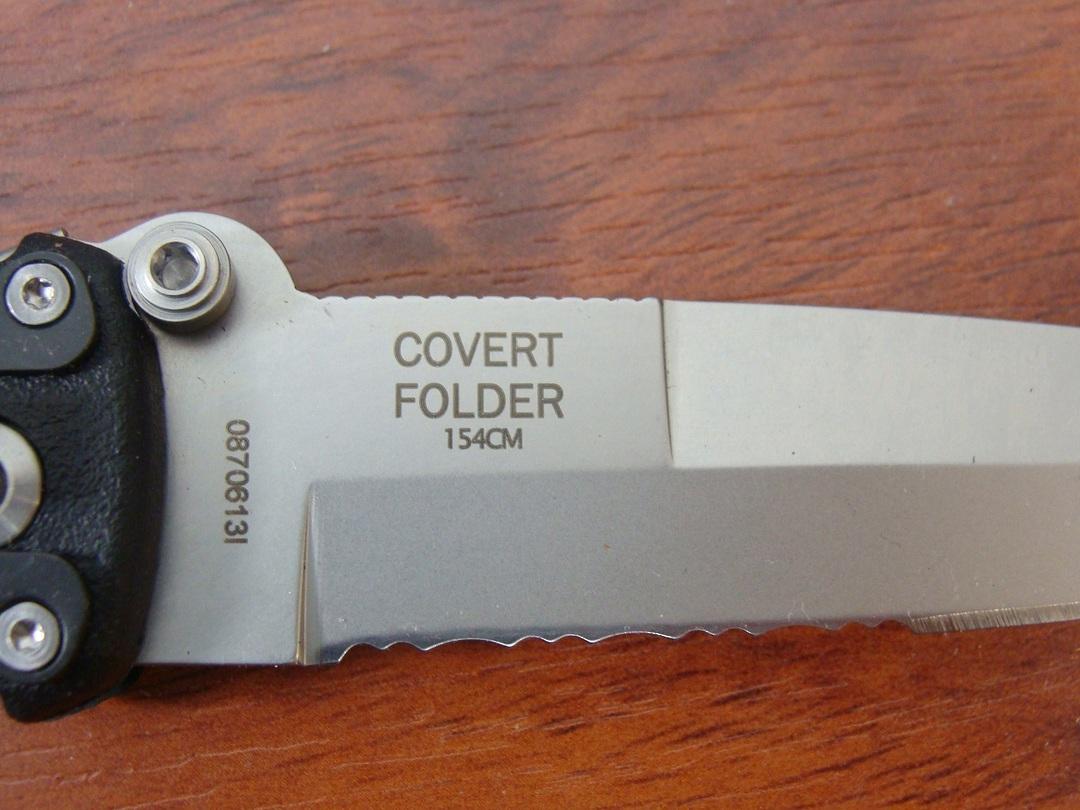 Gerber Applegate Combat Serrated Folding Knife 154CM image 1