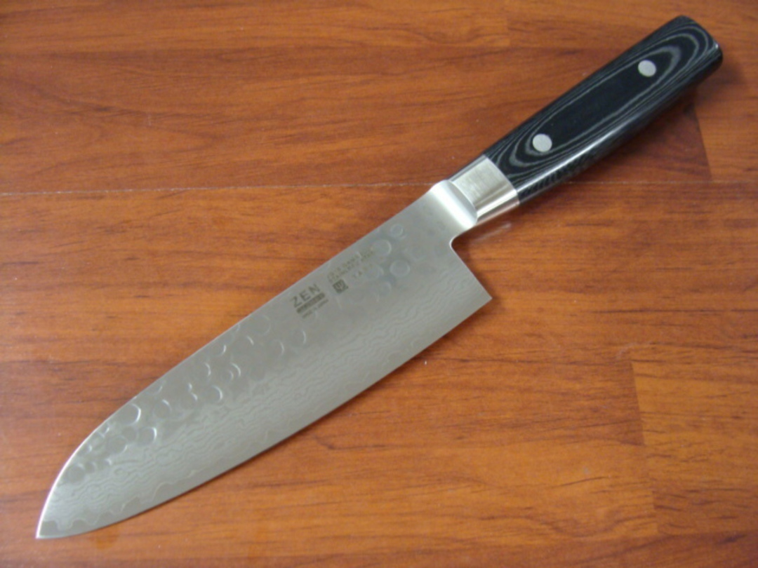 Zen Damascus VG-10 Japanese 7 Pce Block Knife Set - 37 Layers image 5