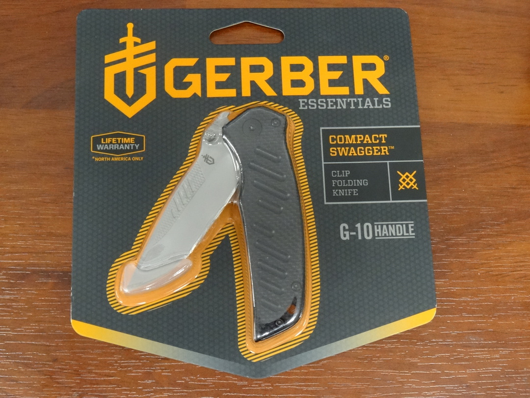 Gerber Compact Swagger Folding Knife image 0