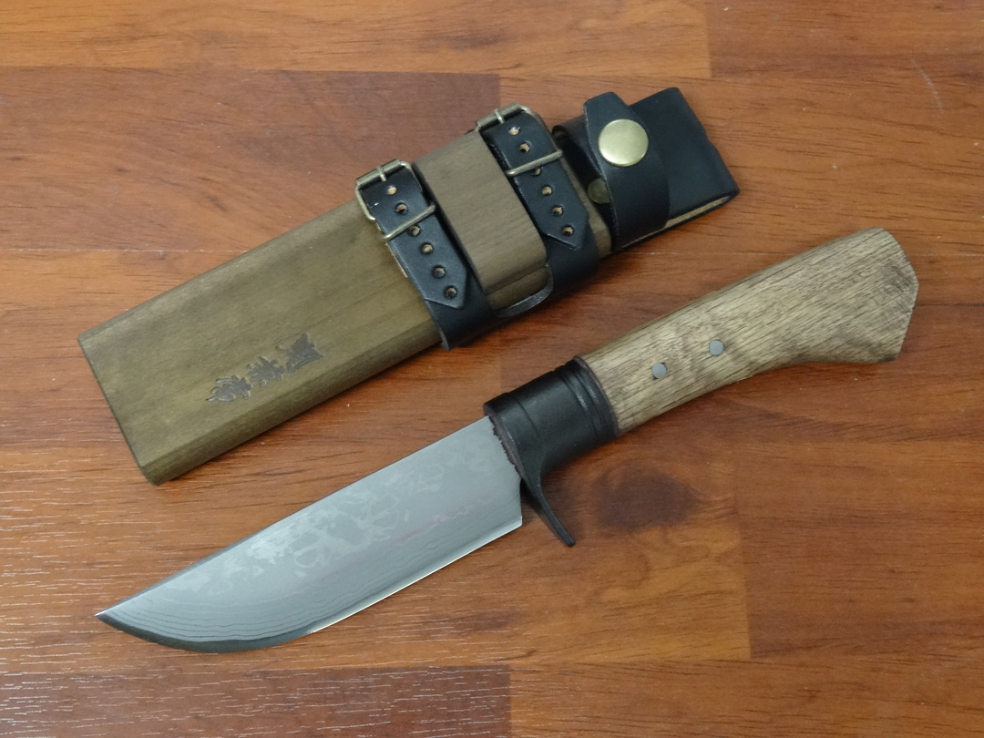 Kanetsune KB414 Sazanam  Japanese Damascus Knife image 0
