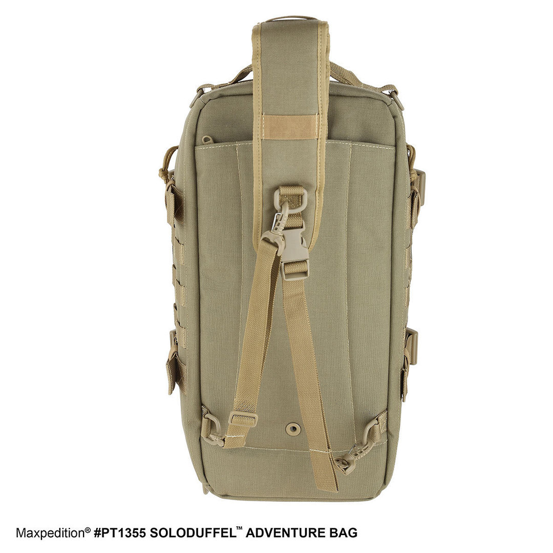 Maxpedition Soloduffe™ Adventure Bag - Khaki PT1355K image 5