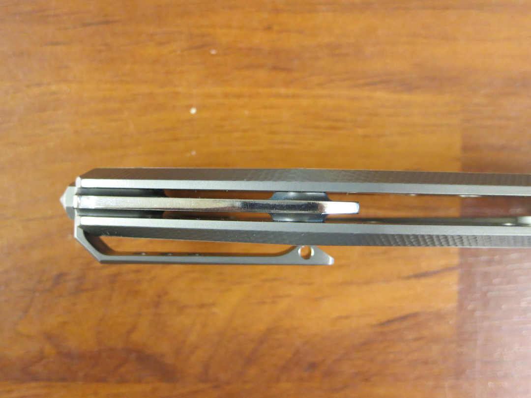 LionSteel Myto: hi-tech EDC folding knife for all everyday activities - Grey titanium image 2