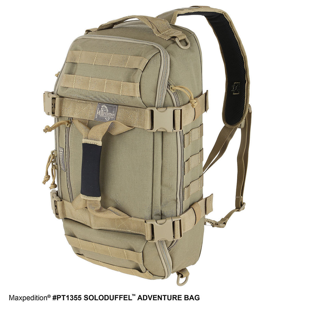 Maxpedition Soloduffe™ Adventure Bag - Khaki PT1355K image 6