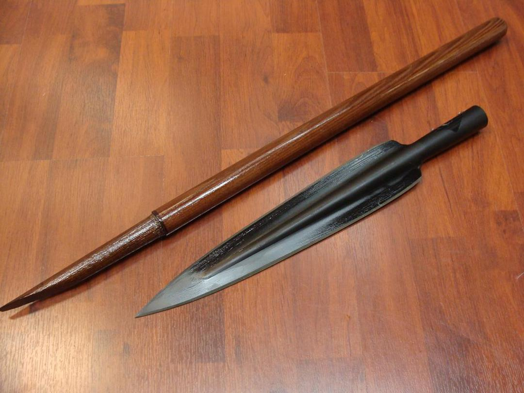 Cold Steel Assegai w/ Short Shaft Spear w/ Sheath image 0