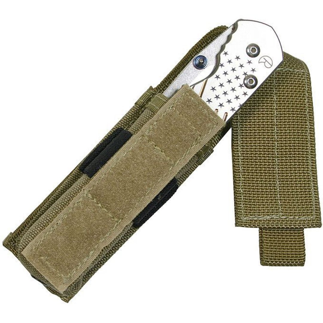 "Maxpedition 4"" Flashlight Sheath ~ Khaki image 1"