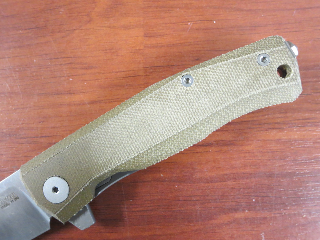 LionSteel Myto: hi-tech EDC folding knife for all everyday activities - Green canvas image 3