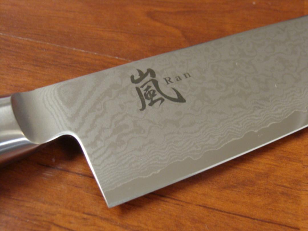 RAN Japanese DAMASCUS CHEF'S KNIFE 255mm image 2