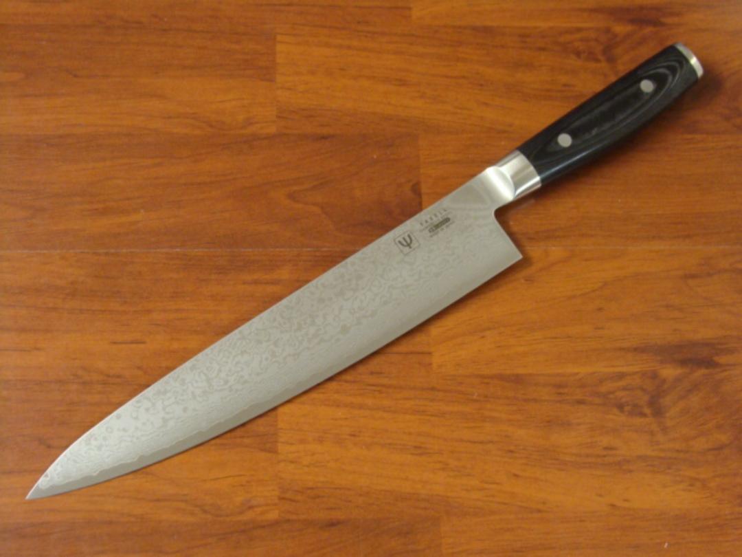 RAN Japanese DAMASCUS CHEF'S KNIFE 255mm image 0