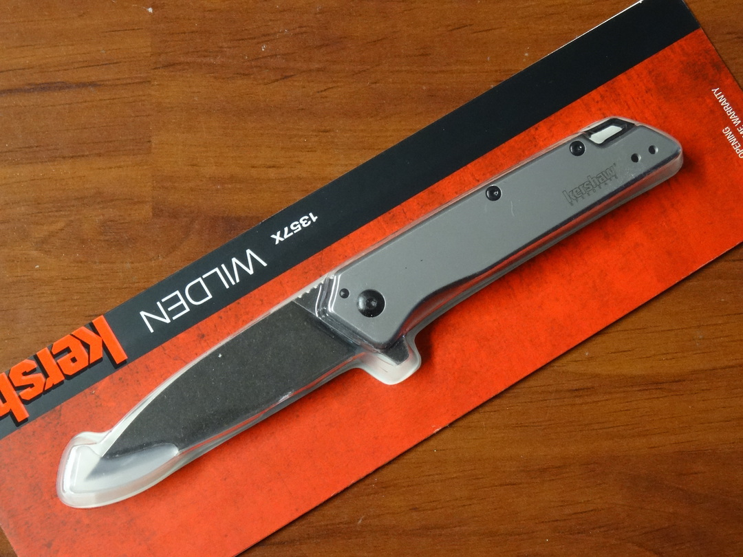 Kershaw Wilden Assisted Flipper Knife image 0