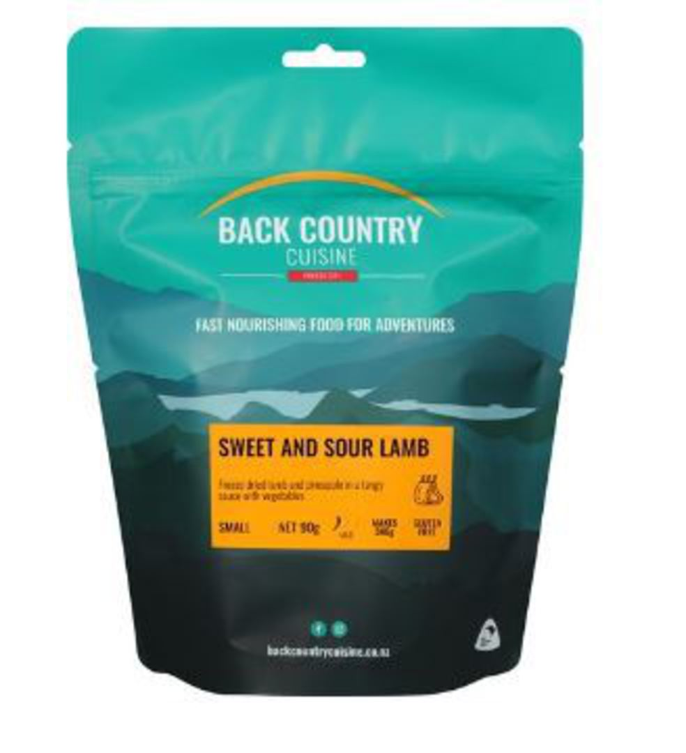 BACK COUNTRY CUISINE SWEET AND SOUR LAMB - GLUTEN FREE SMALL image 0
