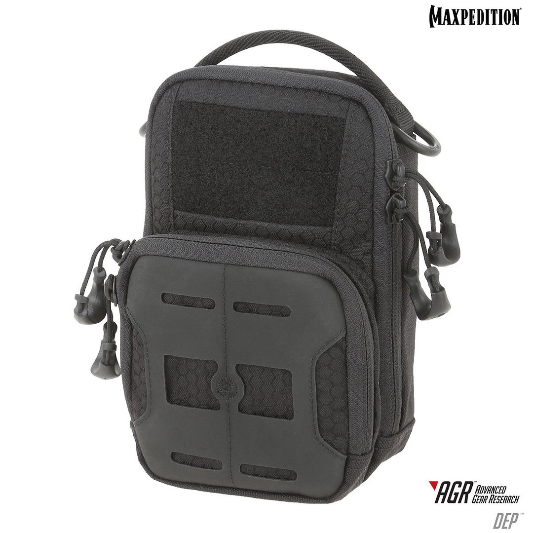Maxpedition DEP Daily Essentials Pouch Black - DEPBLK image 0
