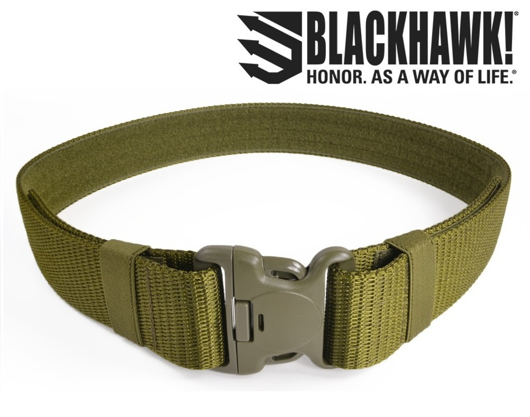Blackhawk Military Web Belt Modernized OD Fits Up to 43 Inch image 0