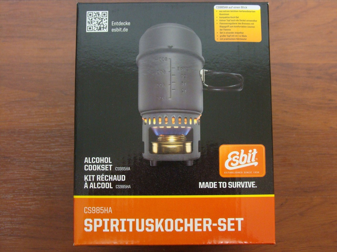 Esbit Alcohol Stove and Trekking Cookset image 0
