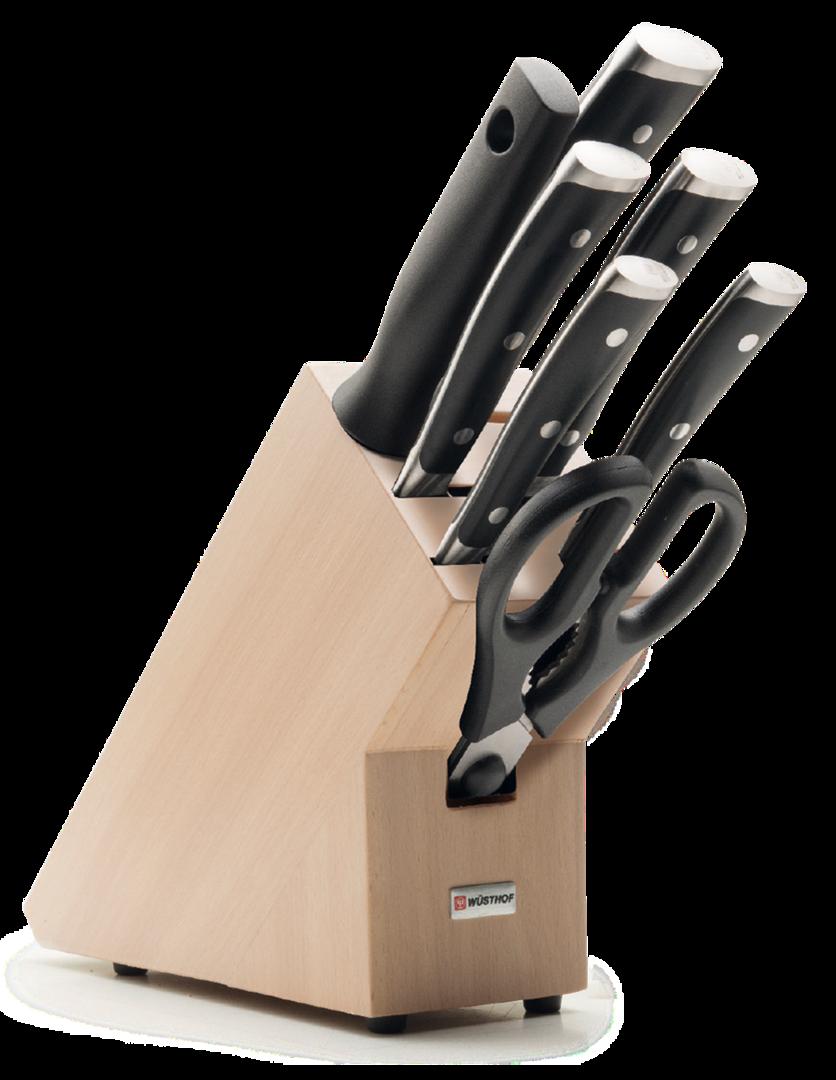 Wusthof Classic Ikon 7 Piece Knife Block Set - 9875 ...